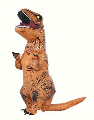 Rubies Inflatable T-REX Child Halloween Costume for Child Multi-Colored One Size