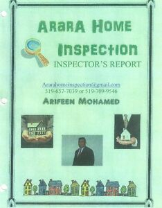 PROFESSIONAL HOME INSPECTION SERVICES IN LONDON AND AREA