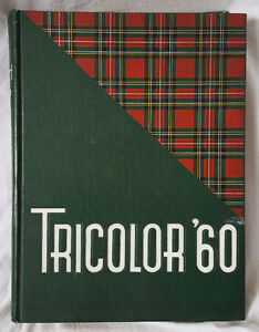 1960'S QUEENS UNIVERSITY TRICOLOR YEAR BOOKS HARDCOVER ORIGINAL