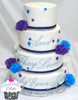 Sweet Chillz Cakes ~ Absolutely Gorgeous Wedding Cakes