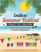 Endless Summer Festival- Ancaster VENDOR SPACE AVAILABLE