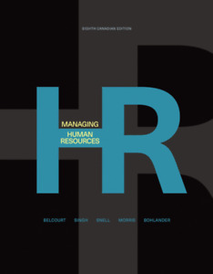 Managing Human Resources Eighth Canadian Edition (Paperback)
