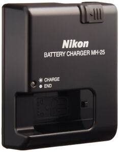 Nikon MH 25 Charger NEW . ENEL 15 Battery
