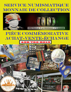 NUMISMATIQUE STORE FOR COLLECTORS-COINS, BANKNOTE ETC...