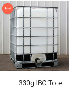 330 gallon water holding tank cystern for drinking grey septic