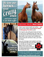Equine First Aid IN FREDERICTON MARCH 12TH