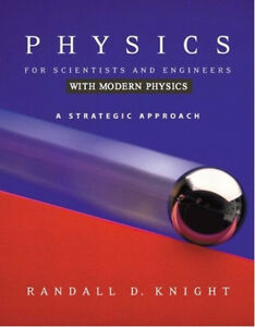 Physics for scientists and engineers, strategic approach