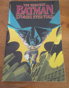 The Greatest Batman Stories Ever Told, 1988 Kitchener / Waterloo Kitchener Area image 1