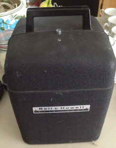 Bell and Howell  vintage movie projector