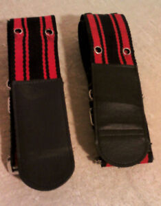 Luggage straps - Matching - in good condition - $15.00