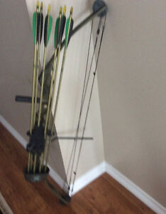 New price BEAR Whitetail ll hunthing bow and arrows