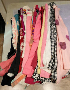 Girls size 7-8 clothes and shoes