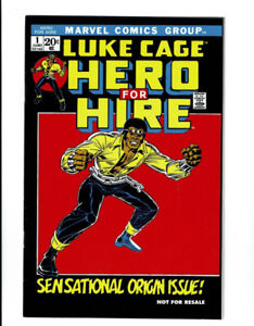 Luke Cage Hero For Hire #1 Reprint First Appearance Marvel