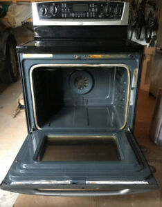 Stainless Steel Whirlpool Stove/Convection Oven