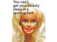Mobile Spray Tans . Quality products used. £14 per full body spray tan .
