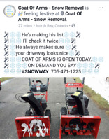 Coat of Arms - Snow Removal