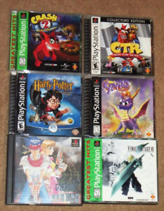 PS1 GAMES FROM $3