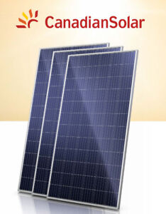 Brand New Canadian Solar 330W poly B Solar Panel Cottage Home