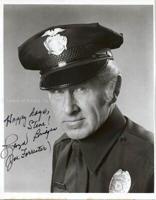 LLOYD BRIDGES - INSCRIBED PHOTOGRAPH SIGNED