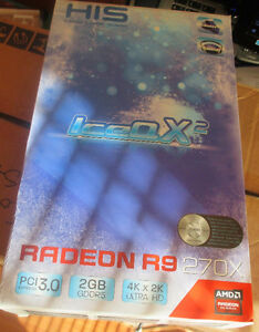 Video Card (HIS IceQ X2 R9 270X)