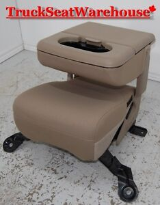 Ford F250 Superduty Truck center fold down seat console jumpseat
