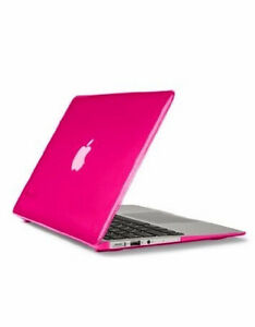 Pink hardshell cover for MacBook Air 13-inch