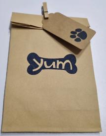 Gift bag dog themed