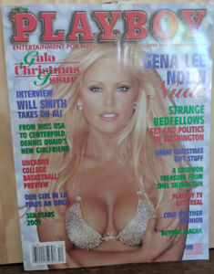 Playboy December 2001 - Gina Lee Nolin