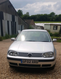 VW Golf 1.6 Automatic, 2002, low mileage of 85,000