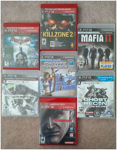 Playstation 3 Games lot - $5/each