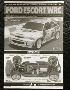 Assorted RC manuals Tamiya, HPI, Losi, Traxxas Not Kyosho