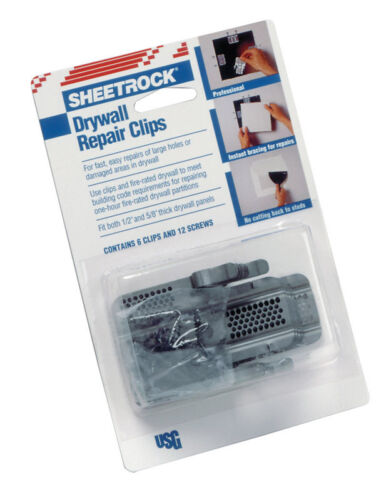 USG Sheetrock  Drywall Repair Clips