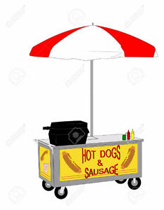 Award Winning Hot Dog/Sausage Cart For Sale