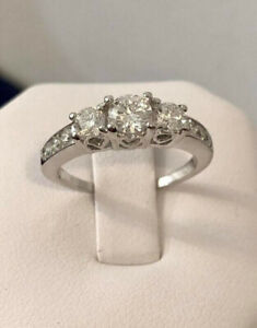14K Gold 1.05ct. Diamond Engagement Ring /Certified at $4,500