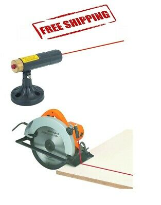 Circular Saw Laser Guide Line Attachment 9 Foot Range Including Batteries