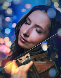 Amazing romantic sound of live violin on your proposal!