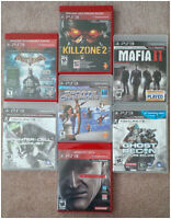 Playstation 3 Games Lot- Mint condition