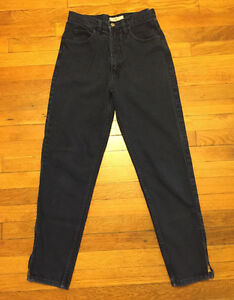 High Waisted Black Guess Skinny Jeans