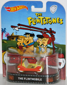 Hot Wheels Retro The Flintstones Flintmobile Diecast Car
