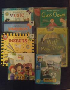 Kids Books with Read Along CD