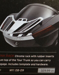 Chrome Trunk Luggage Rack for Victory Vision NEW $399