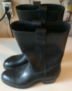 COLLINS MOTORCYCLE BOOTS MEN'S SIZE 7 NEW CONDITION $20.00