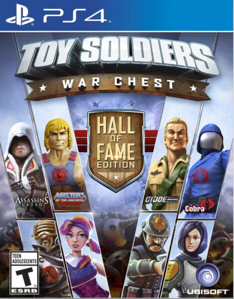 PS4 Toy Soldiers: War Chest - Hall of Fame Edition (brand new)