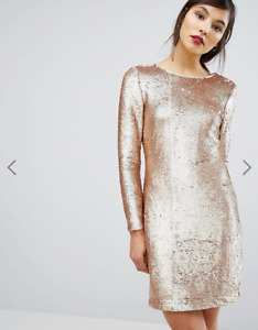 Gold Sequin Dress - brand new, tags still on