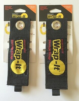 2 X-large Wrap-it Heavy Duty Storage Straps To Hang Items On Hooks Pegboard