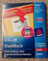 Etiquettes Avery 5164 & 5266 SUPER DEAL et autres
