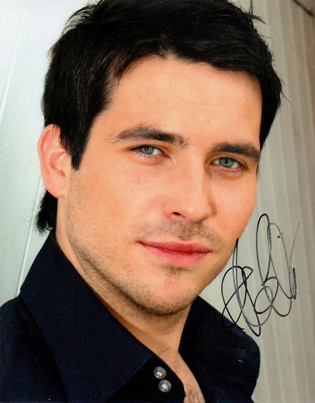 ROB JAMES-COLLIER.. Handsome Hunk (Downton Abbey) SIGNED