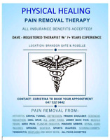 PAIN REMOVAL THERAPY