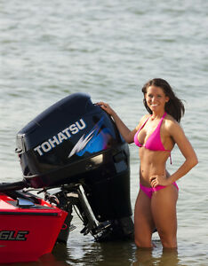 Tohatsu Outboards from New Coast Marine in Saskatoon