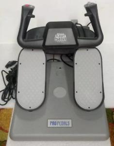 CH Products Flight Sim Yoke USB FSY211U and Pro Pedals USB PPU99